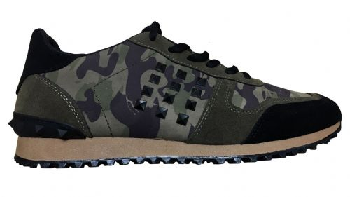 NEW Mens Fargo Camouflage Low Tops Shoes Trainers (2)